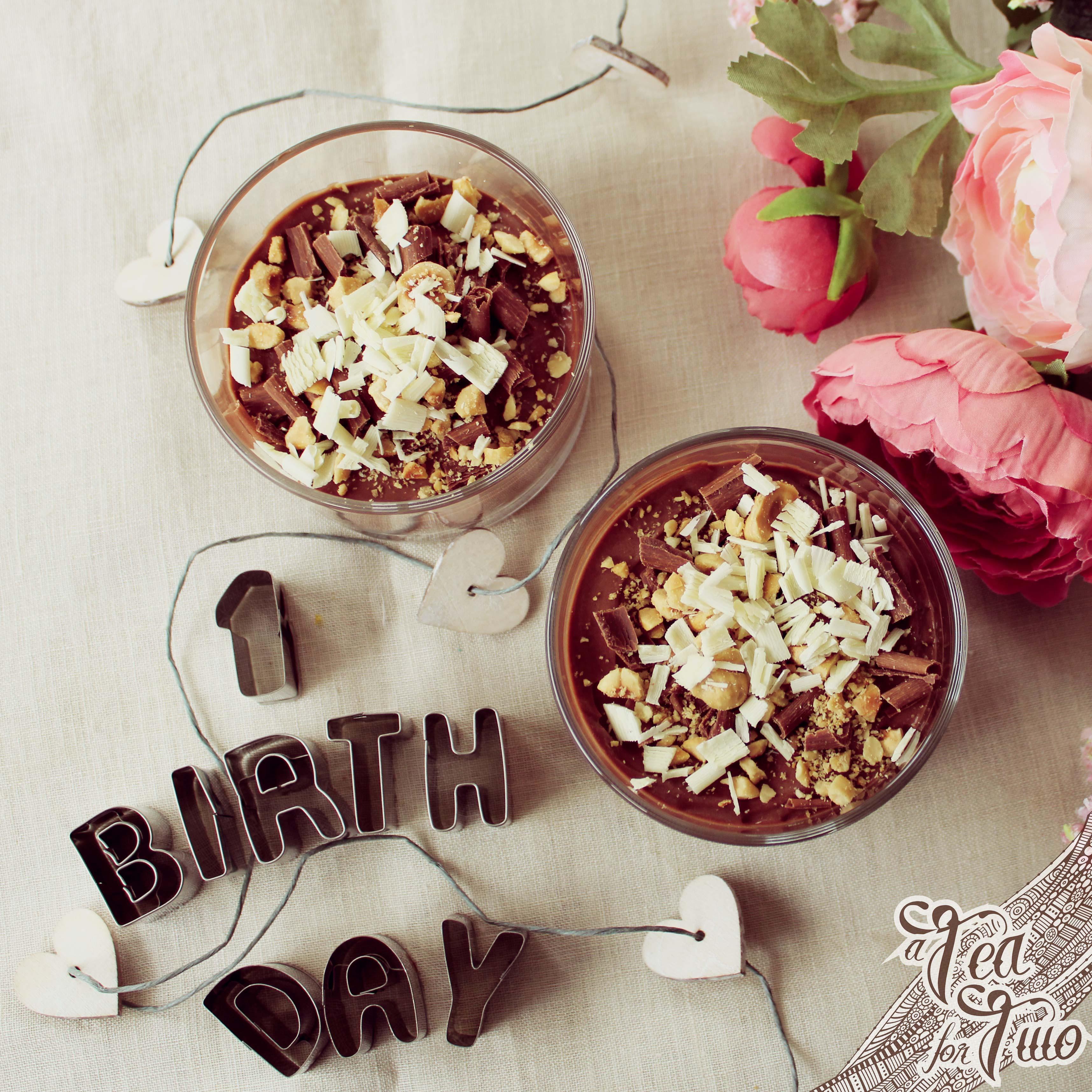 Mini-cheesecake alla gianduia e nocciole